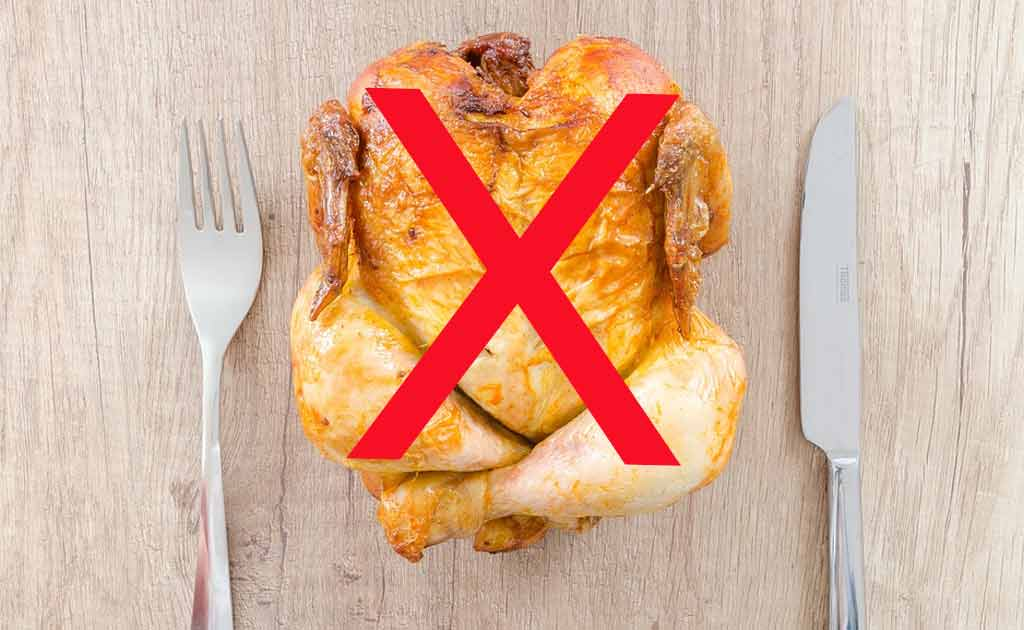 Không nên ăn thịt gà